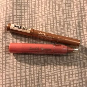 5 for $20 set of two (lip and eye crayons)